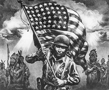 Native American Soldier