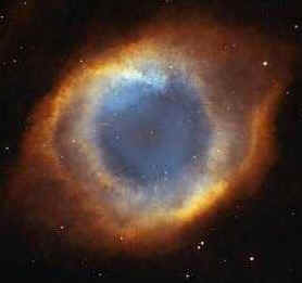 "Photo above taken with the Hubble Telescope. NASA calls it ""The Eye of God."""