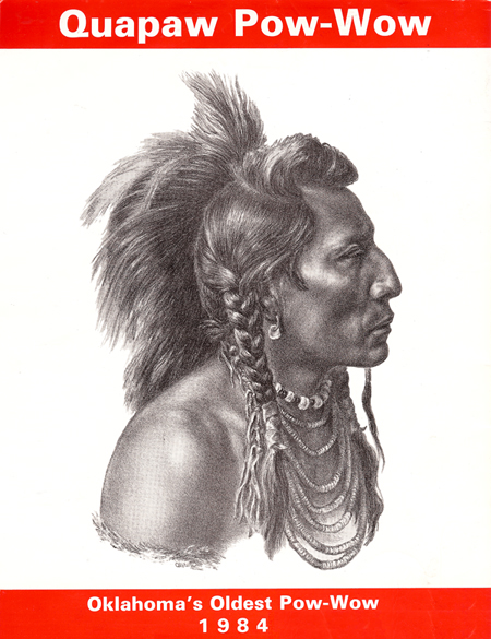 Indian Profile by Charles Banks Wilson